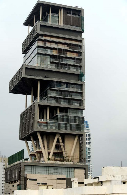 Antilia Home of Mukesh Ambani